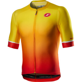 Castelli Aero Race 6.0 Maillot Manches courtes Homme, sunset